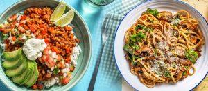 chefs plate vegetarian menu